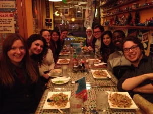 Interfaith Scholars Out For Dinner at Cozy Noodles near Cubs stadium!