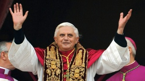 Pope Benedict during his Resignation Speech
