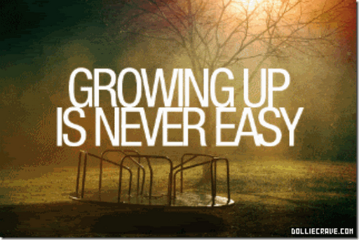 never easy